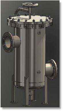 Filter Vessel ASME VIII-1