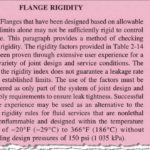 Flange Rigidity