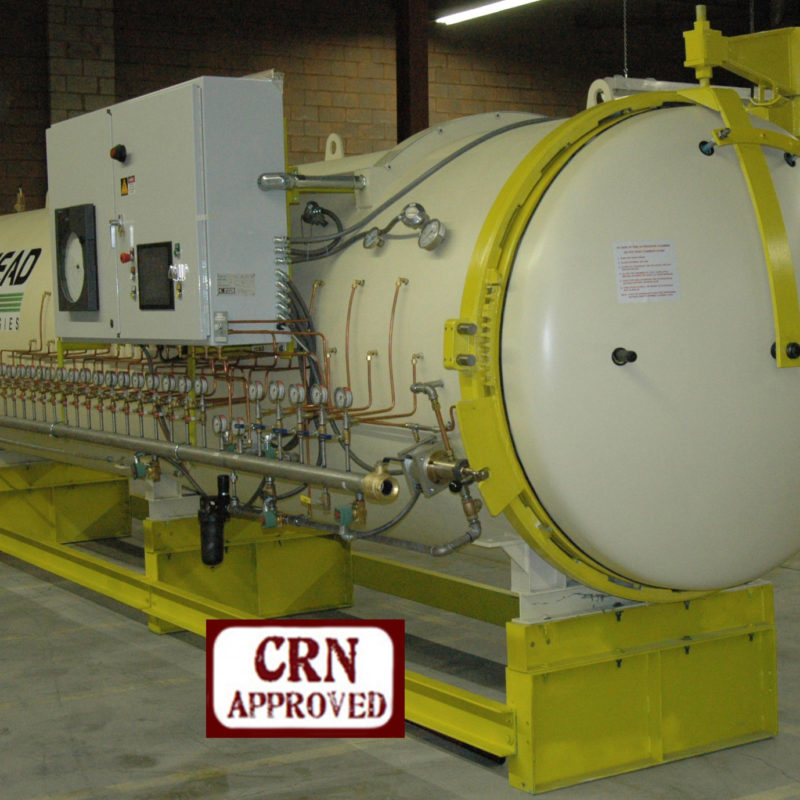 Refurbished Autoclave ASME VIII-1